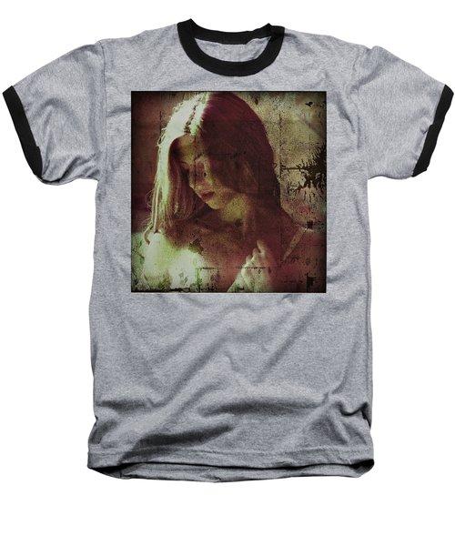 Baseball T-Shirt featuring the photograph Sorrow by Allen Beilschmidt