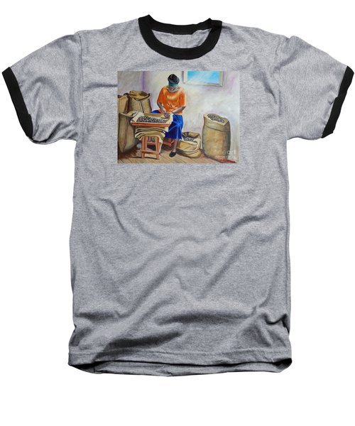 Sorting Nutmegs Baseball T-Shirt