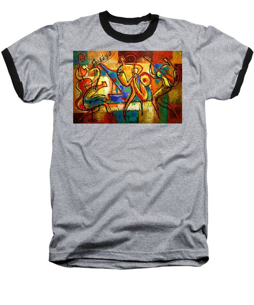 Soul Jazz Baseball T-Shirt