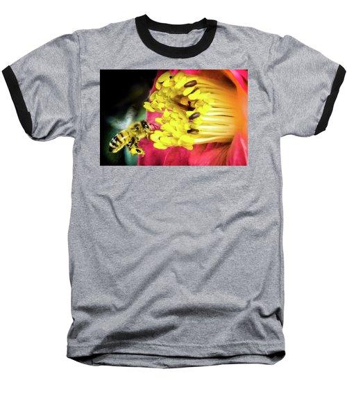 Soul Of Life Baseball T-Shirt by Karen Wiles