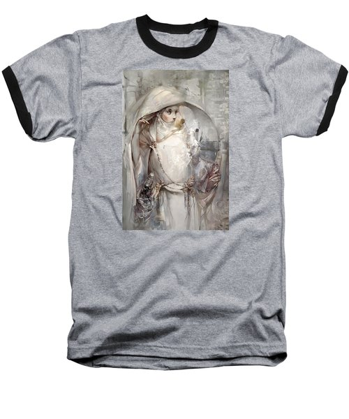 Baseball T-Shirt featuring the digital art Soul by Te Hu