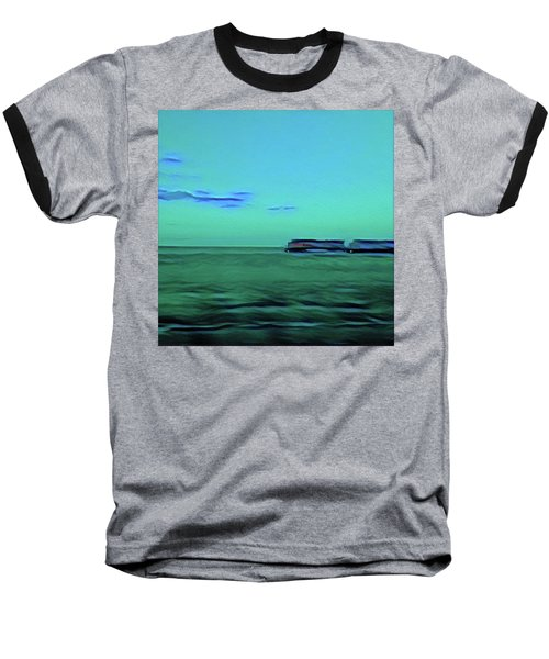 Sound Of A Train In The Distance Baseball T-Shirt