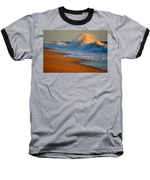 Sound Of The Surf Baseball T-Shirt by Dianne Cowen