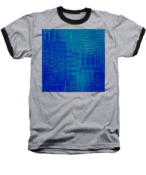 Sounds Of Blue Baseball T-Shirt by Stephanie Grant