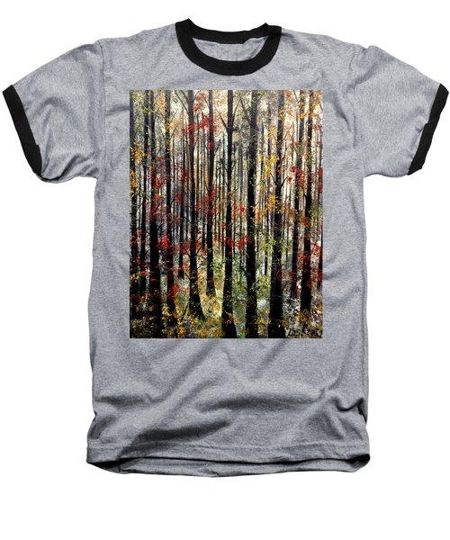 Sounds That Make Me Cry Baseball T-Shirt by Lisa Aerts