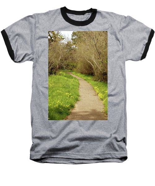 Baseball T-Shirt featuring the photograph Sour Grass Trail by Art Block Collections
