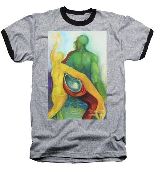 Source Keepers Baseball T-Shirt by Daun Soden-Greene