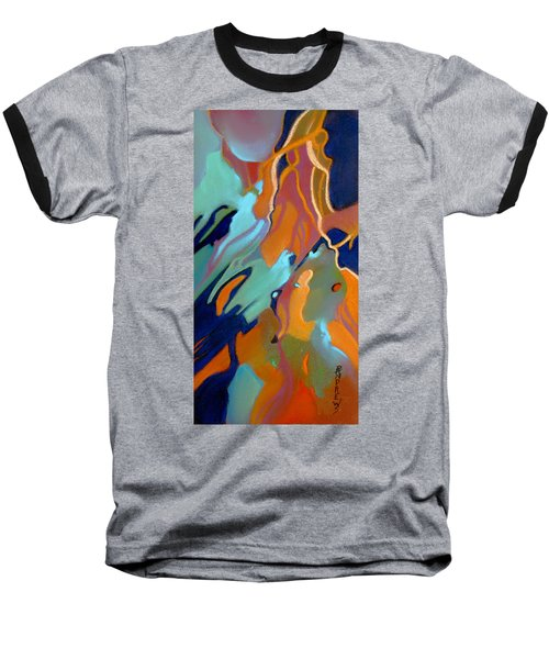 Baseball T-Shirt featuring the painting Source by Rae Andrews