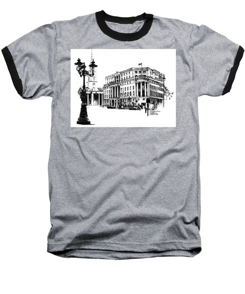 South Africa House Baseball T-Shirt by Tim Johnson