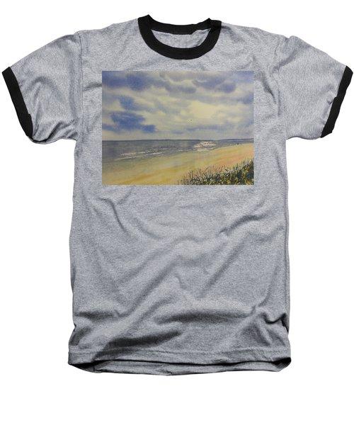 South Beach From The Dunes Baseball T-Shirt