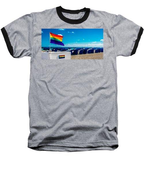 South Beach Pride Baseball T-Shirt