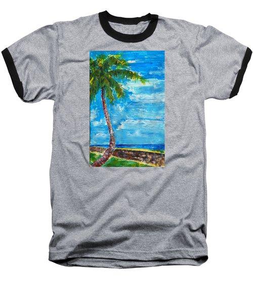 South Beach Wall Baseball T-Shirt