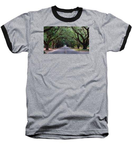 South Boundry Baseball T-Shirt by Skip Willits