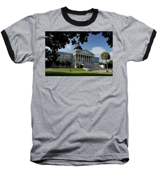 South Carolina State House 2 Baseball T-Shirt by Michael Eingle