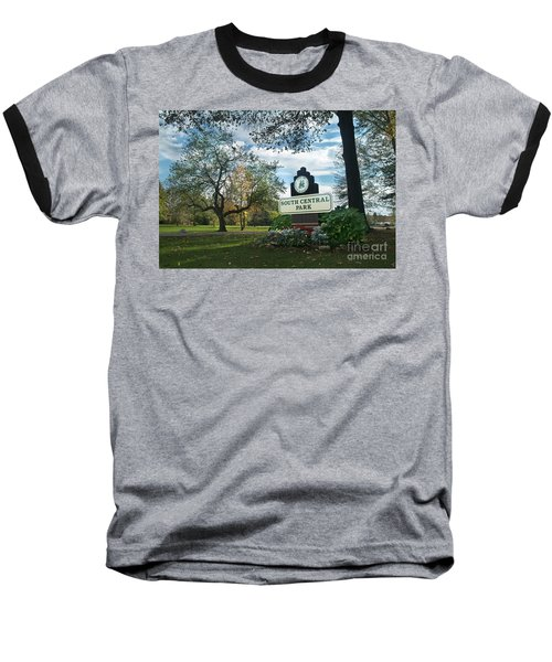 South Central Park - Autumn Baseball T-Shirt