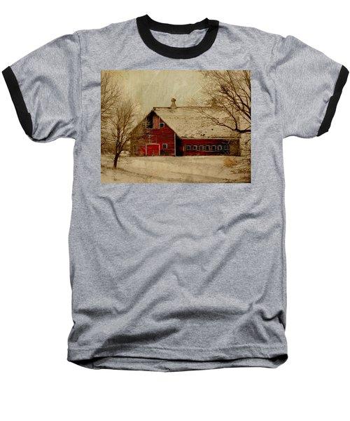 South Dakota Barn Baseball T-Shirt