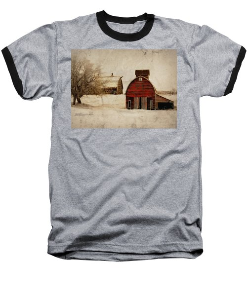 South Dakota Corn Crib Baseball T-Shirt