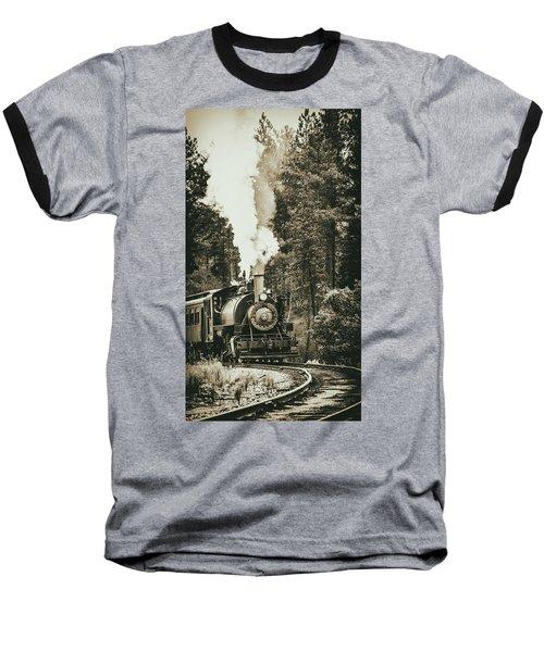 South Dakota Iron Baseball T-Shirt