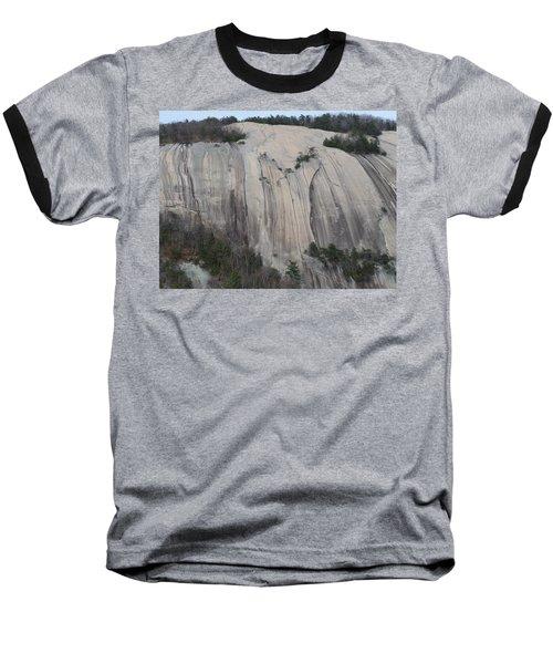 South Face - Stone Mountain Baseball T-Shirt