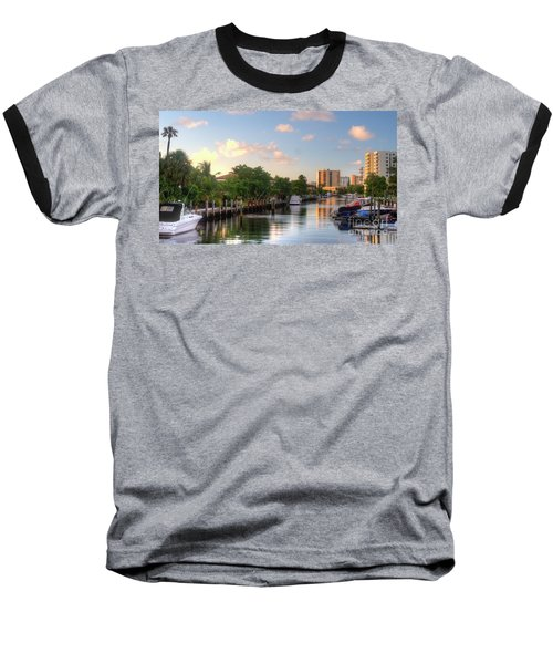 South Florida Canal Living Baseball T-Shirt