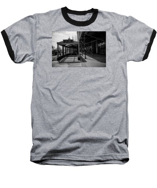 South Garage Baseball T-Shirt by Ester  Rogers