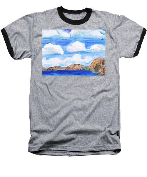 South Morro Bay View To North Baseball T-Shirt