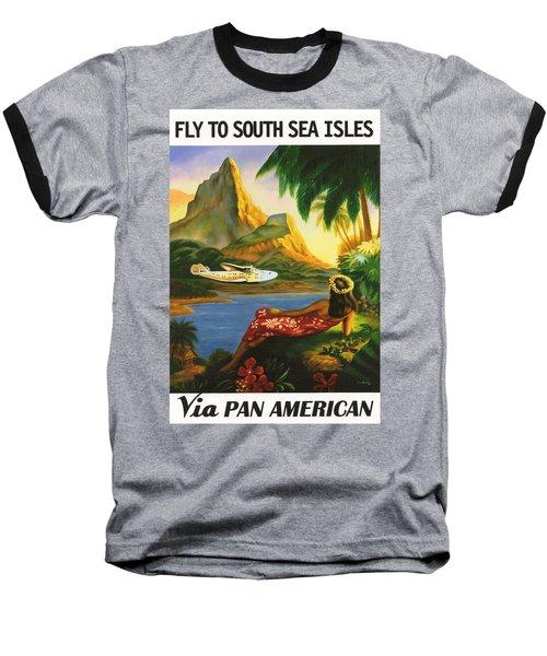 South Sea Isles Baseball T-Shirt