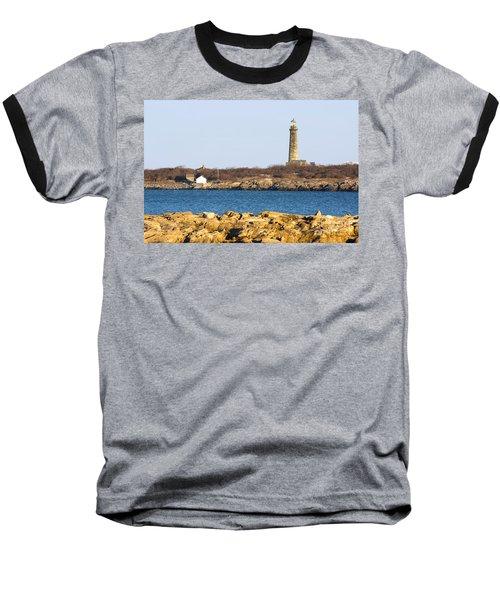 South Tower-thatcher Island Baseball T-Shirt