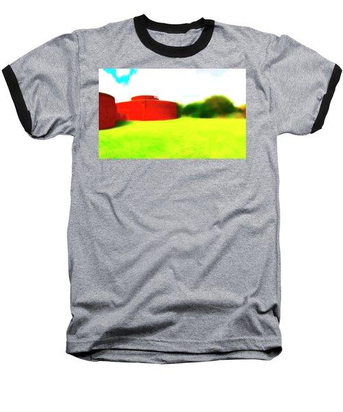 South Walls Baseball T-Shirt by Jan W Faul