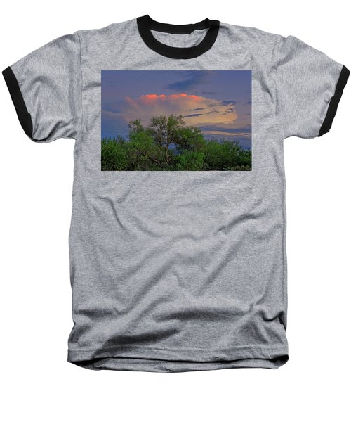 Baseball T-Shirt featuring the photograph Southeast Of Sunset H38 by Mark Myhaver