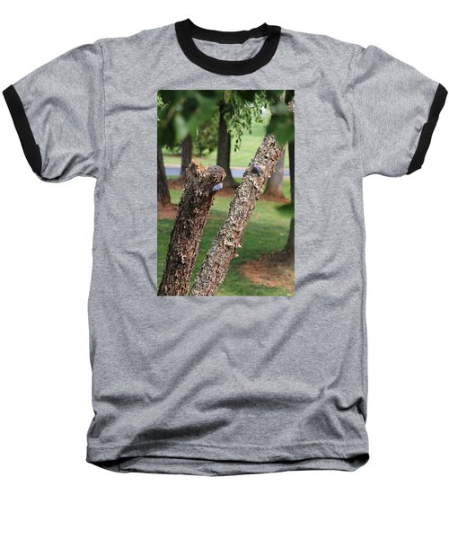 Baseball T-Shirt featuring the photograph Southern Blue Birds by Debra     Vatalaro