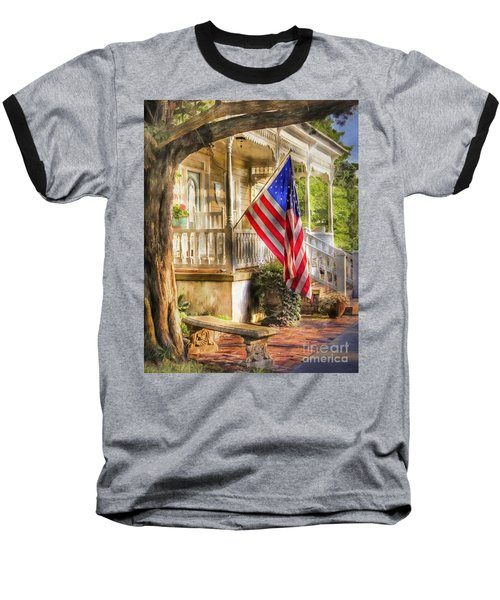 Southern Charm Baseball T-Shirt by Benanne Stiens