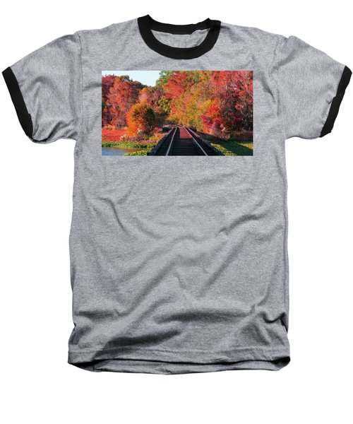 Baseball T-Shirt featuring the photograph Southern Fall by RC Pics