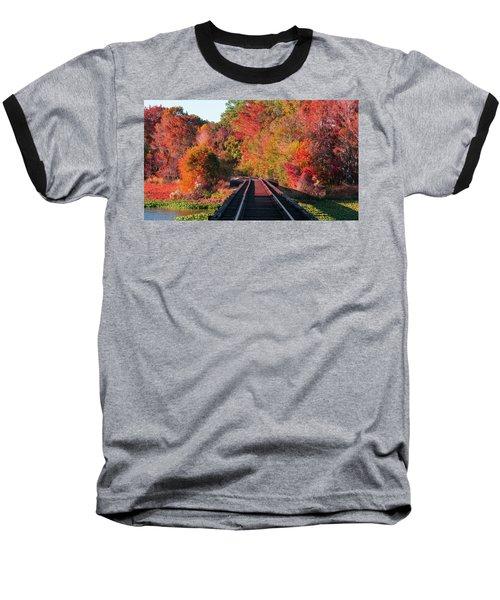 Southern Fall Baseball T-Shirt by RC Pics