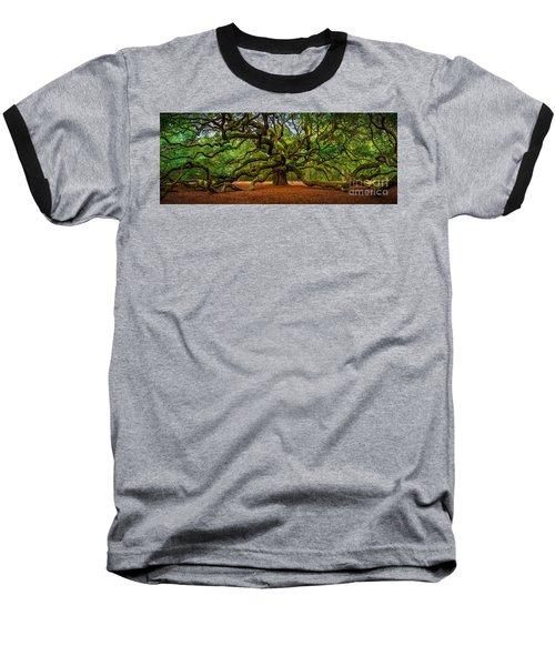Angel Oak In Charleston Baseball T-Shirt