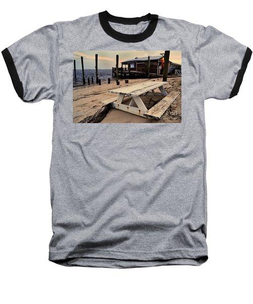 Southport Picnic Table Baseball T-Shirt