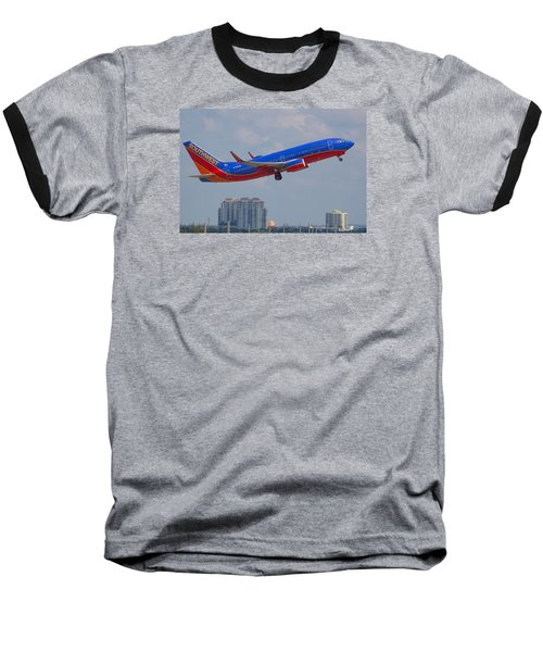 Southwest Airlines Baseball T-Shirt