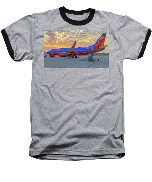 Southwest Airlines - The Winning Spirit Baseball T-Shirt