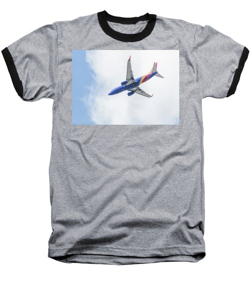Southwest Airlines With A Heart Baseball T-Shirt