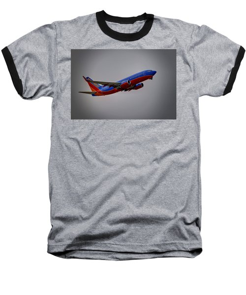 Southwest Departure Baseball T-Shirt