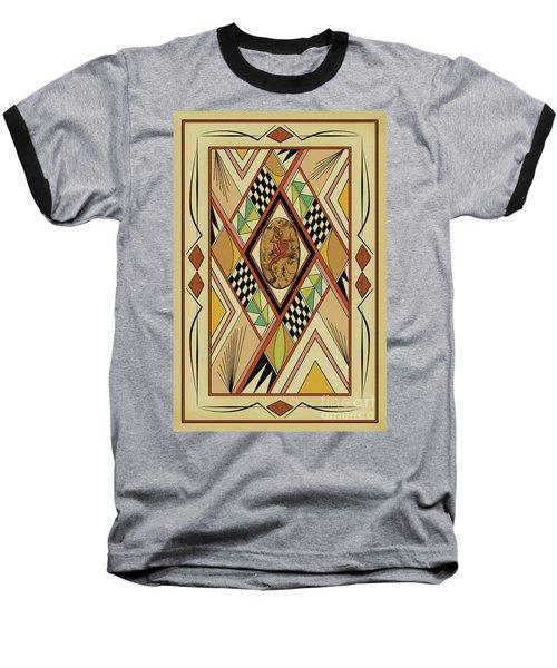 Southwest Lizard  Baseball T-Shirt