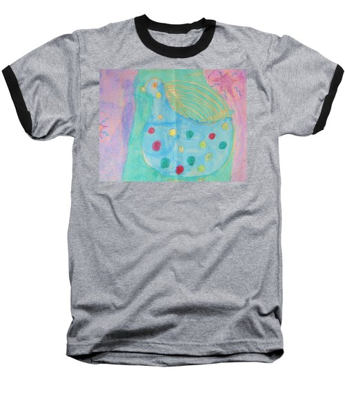 Baseball T-Shirt featuring the drawing Southwestern Chicken by Barbara Yearty