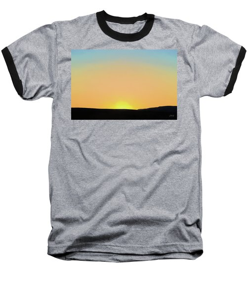 Baseball T-Shirt featuring the photograph Southwestern Sunset by David Gordon