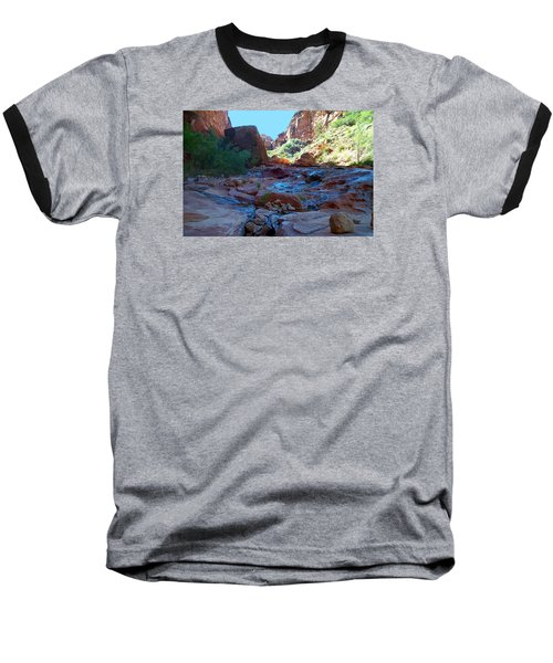 Sowats Creek Kanab Wilderness Grand Canyon National Park Baseball T-Shirt