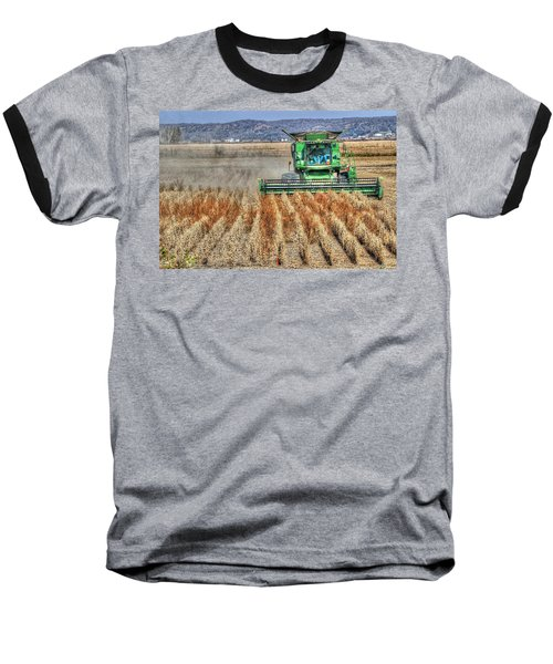 Soybean Harvest Fremont County Iowa Baseball T-Shirt