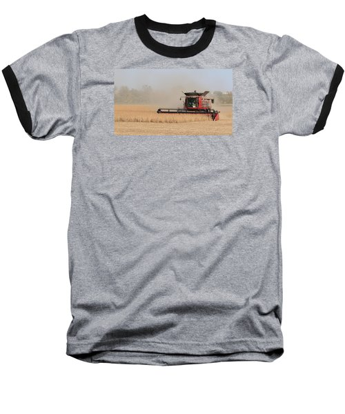 Soybean Harvest In Fremont County Iowa Baseball T-Shirt