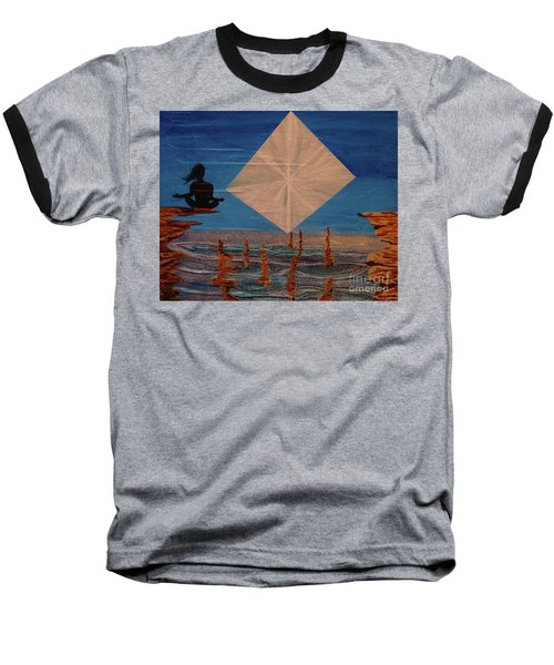 Baseball T-Shirt featuring the painting Soycd by Stuart Engel