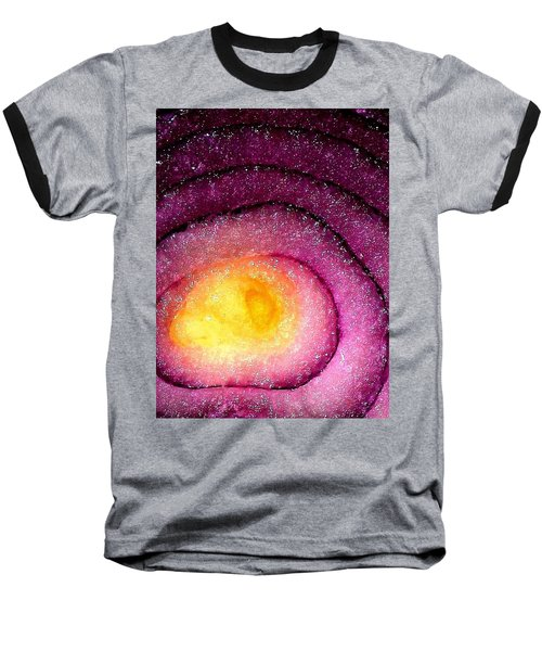Space Allium Baseball T-Shirt