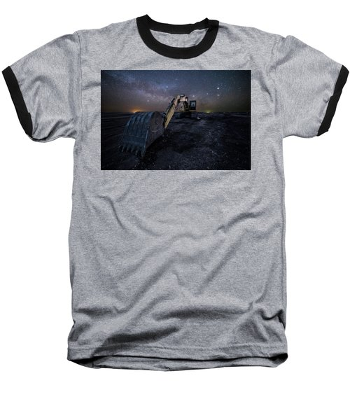 Baseball T-Shirt featuring the photograph Space Excavator  by Aaron J Groen