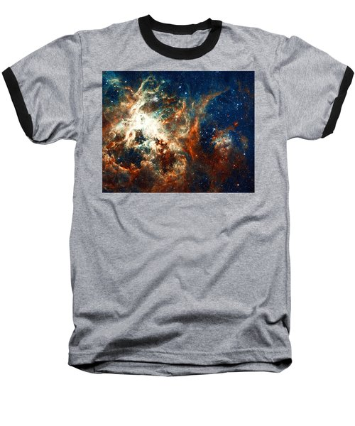 Space Fire Baseball T-Shirt